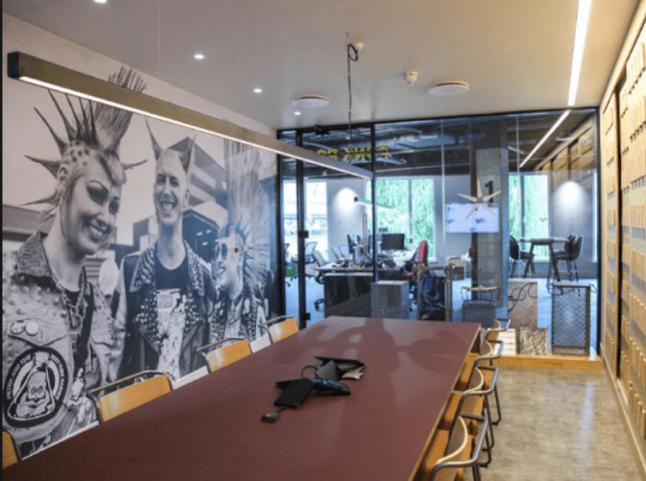 Dr Martens Inspiring office design