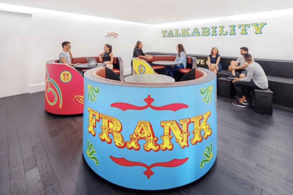 Frank PR inspiring office design