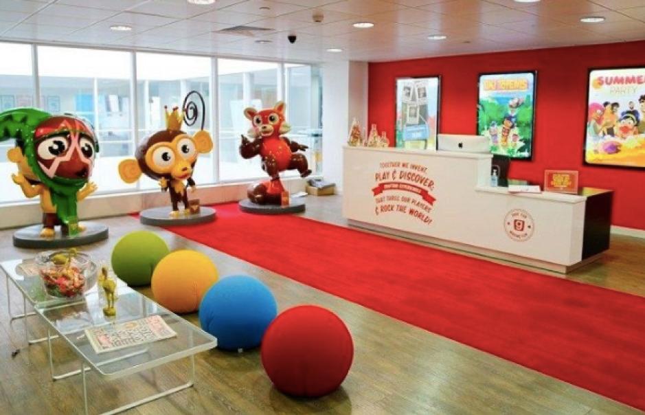 Gamesy inspiring office design